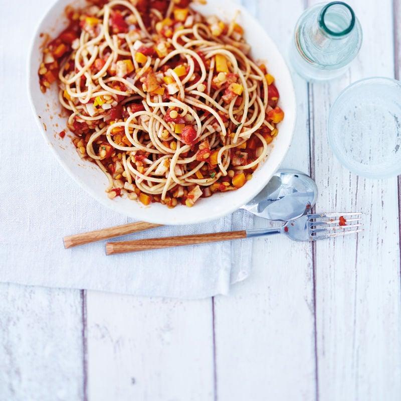 Photo de Spaghetti bolo veggie prise par WW