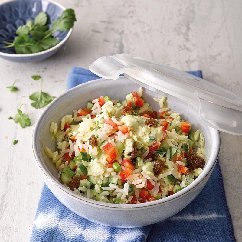 Foto van Indiase rijstsalade door WW