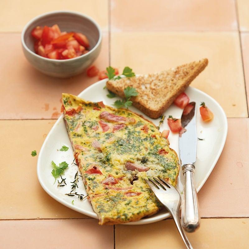 Photo de Omelette matinale au gorgonzola prise par WW