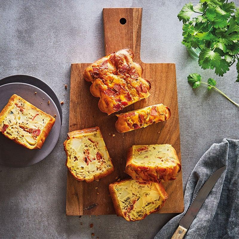 Photo de Cake aux pommes de terre et au chorizo prise par WW