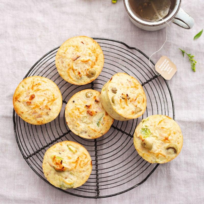 Photo de Muffins jambon et olives vertes prise par WW