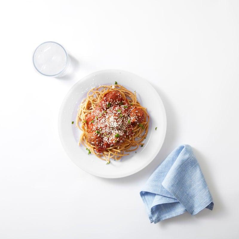 Foto van Pasta met gehaktballetjes door WW