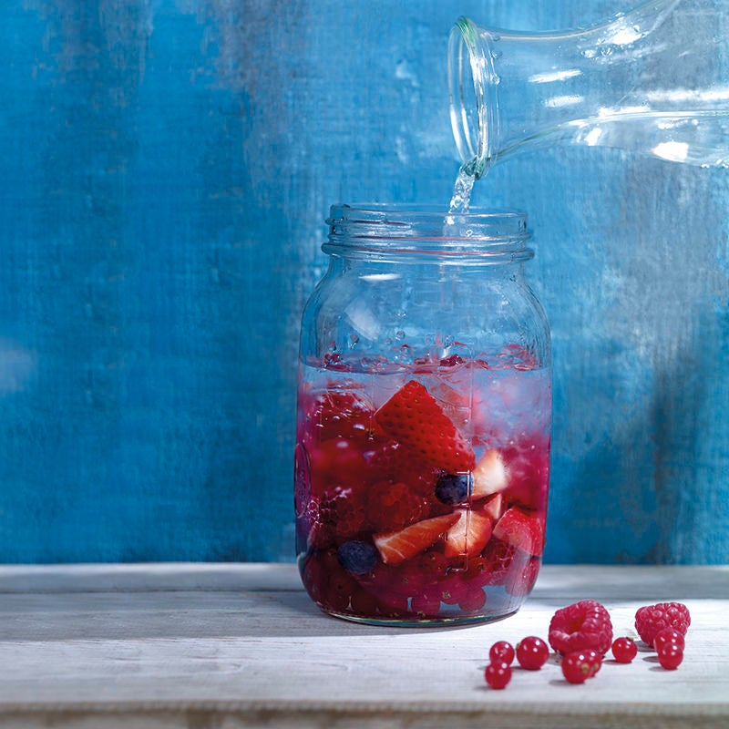 Photo de Eau aux fruits rouges prise par WW