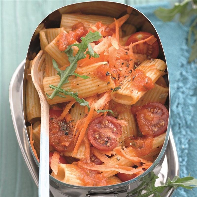 Photo de Salade de rigatoni et sa vinaigrette aux tomates prise par WW