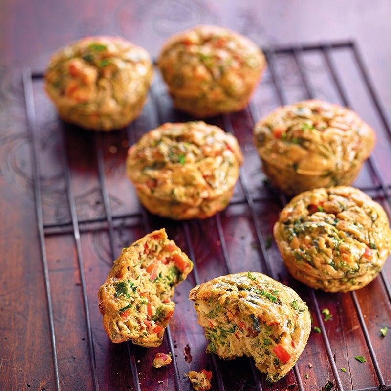 Photo de Muffins épicés aux oeufs et poivron prise par WW