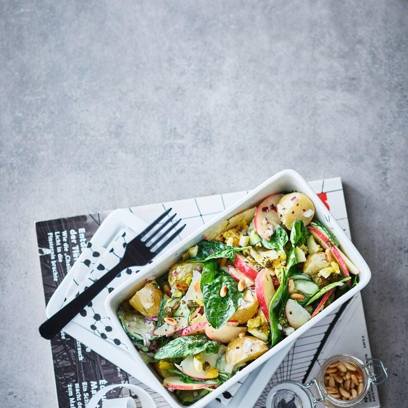 Photo de Salade de pommes de terre, avec concombre prise par WW