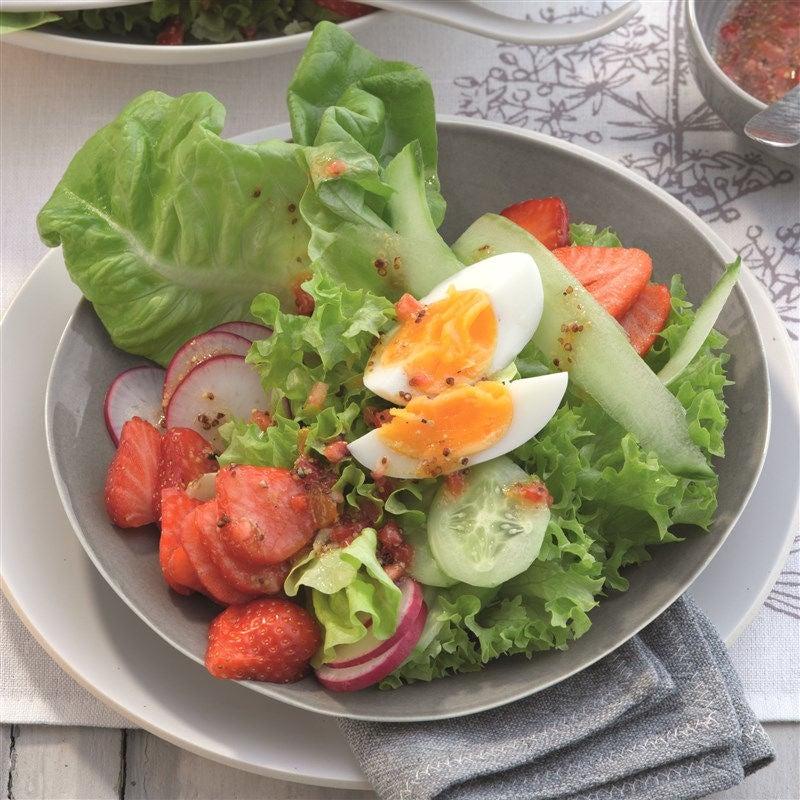 Photo de Salade printanière avec sauce aux fraises prise par WW