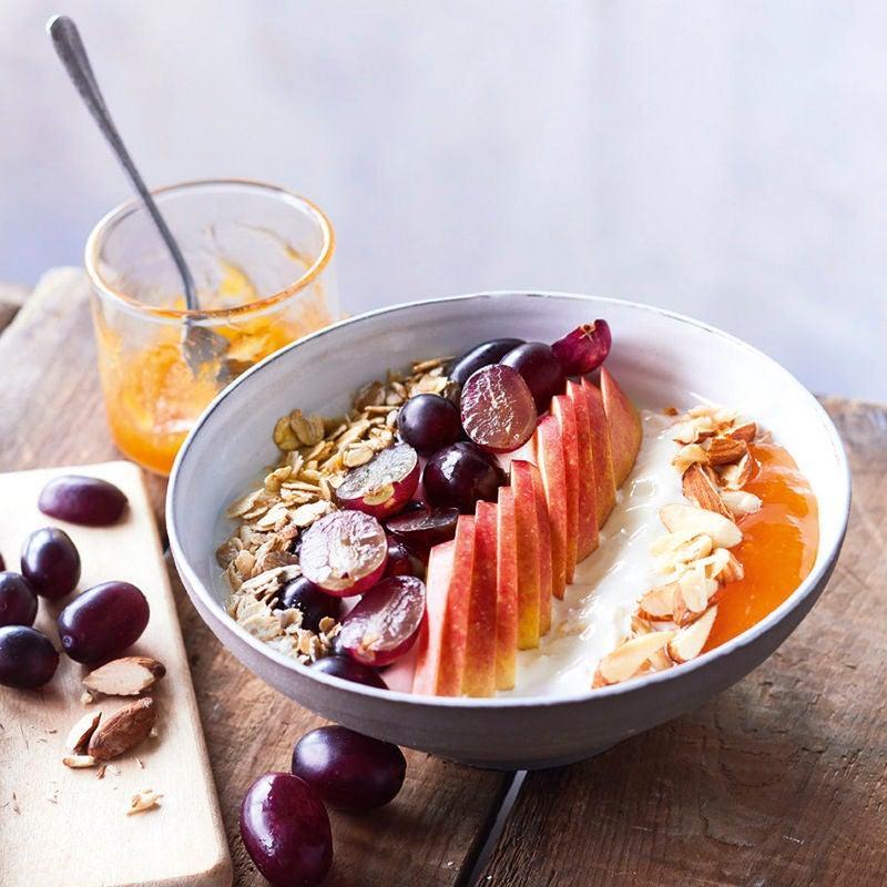 Foto van Kleurrijke ontbijtbowl door WW