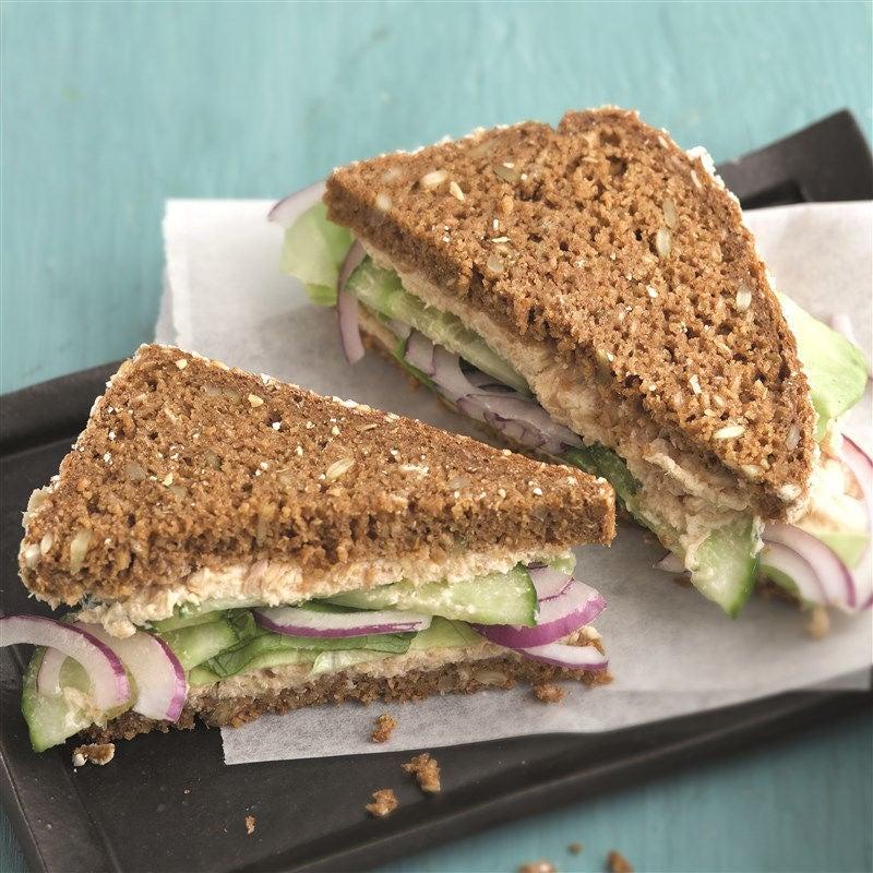 Photo de Sandwich à la crème au thon prise par WW