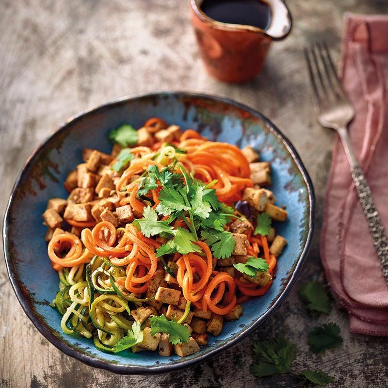 Photo de Spaghettis de légumes au tofu teriyaki prise par WW