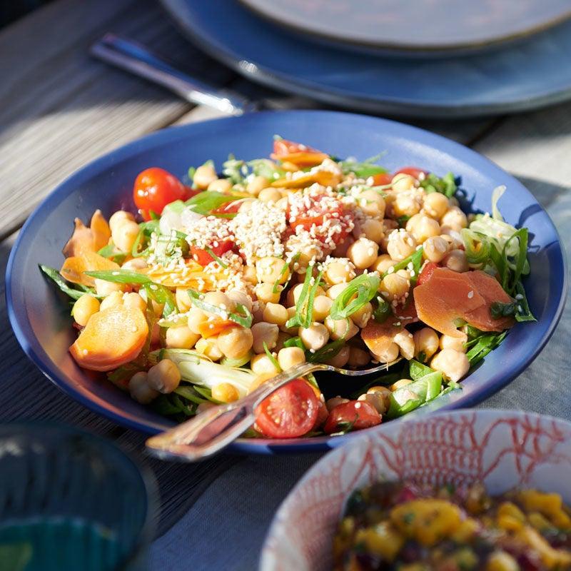 Photo de Salade de pois chiches prise par WW