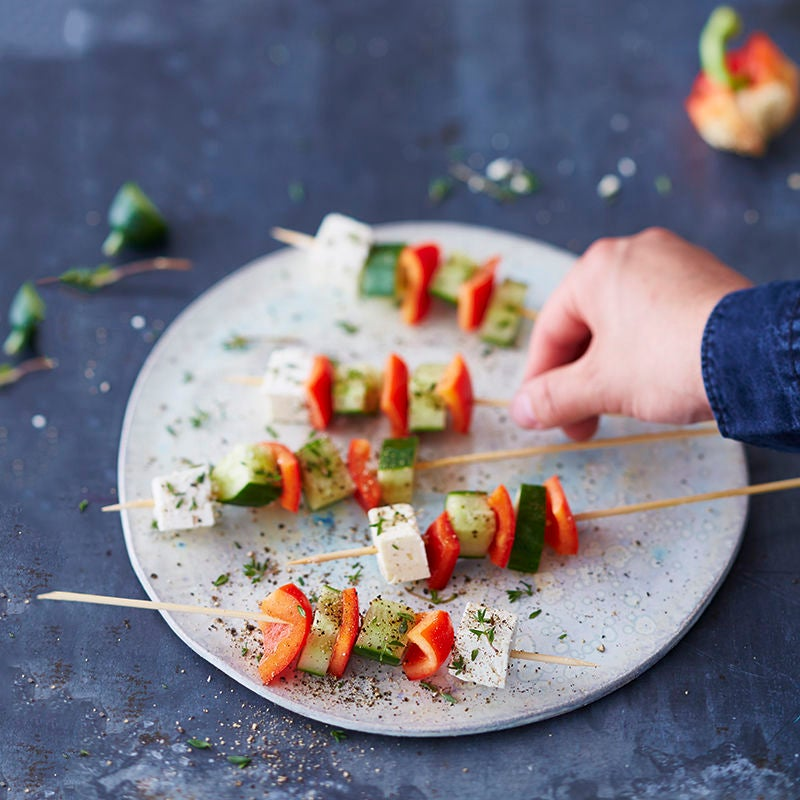 Photo de Brochettes de feta prise par WW
