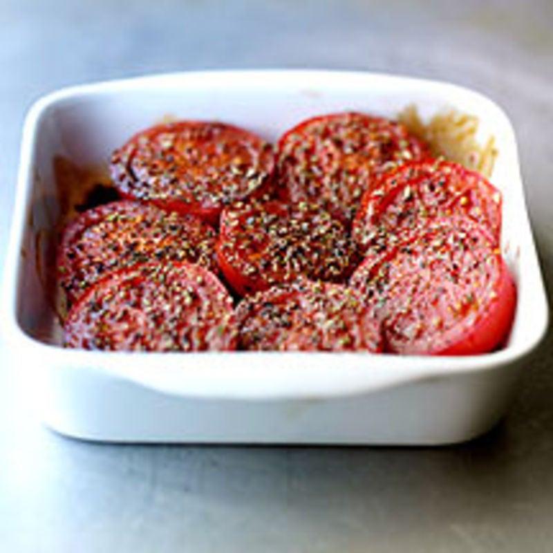 Photo de Tomates au four prise par WW