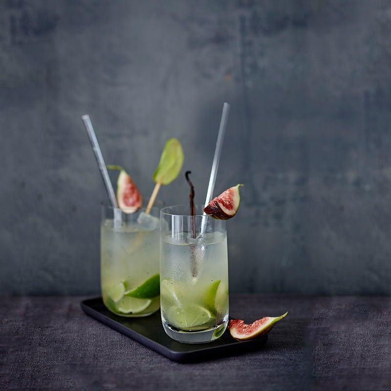 Photo de Gin Fizz aux figues et à la vanille prise par WW