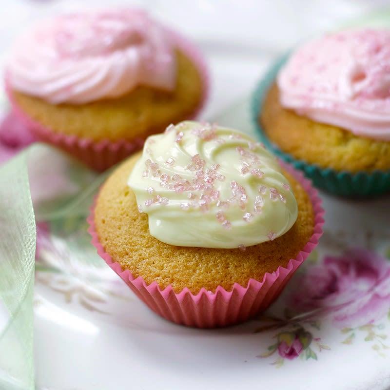 Photo de Cupcakes à la vanille prise par WW