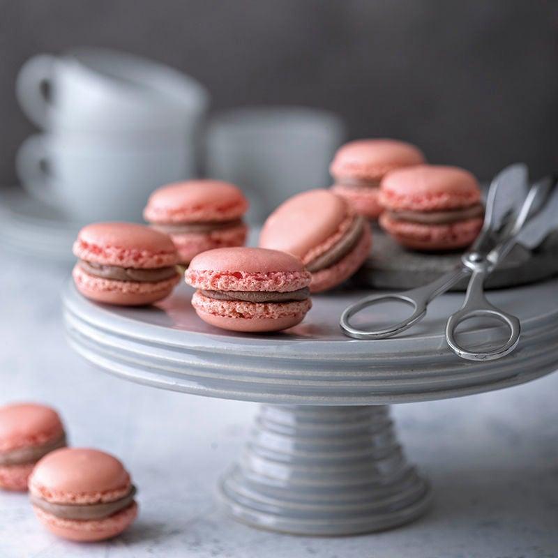 Foto van Macarons met chocolade door WW