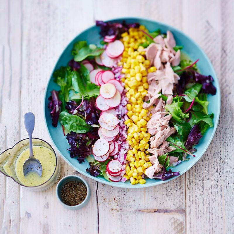 Photo de Salade au maïs et au thon prise par WW