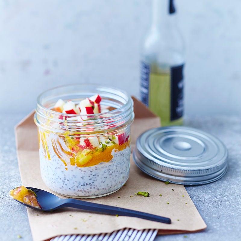 Photo de Pudding de graines de chia, pomme et kaki prise par WW