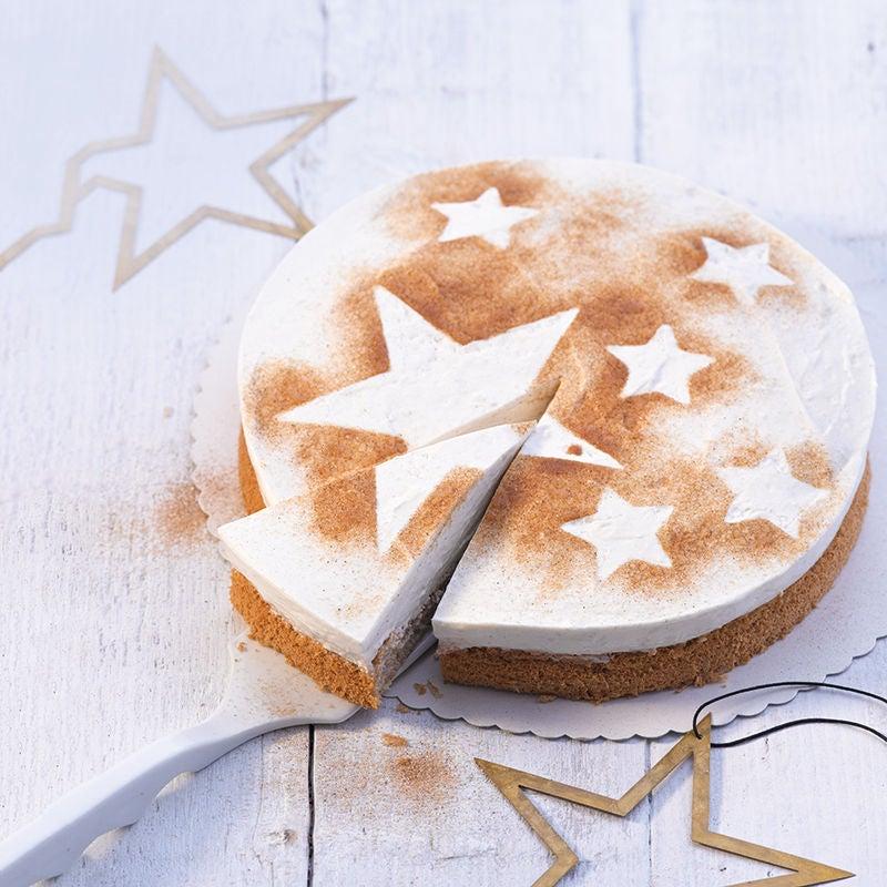 Photo de Tarte au fromage blanc et étoiles de cannelle prise par WW