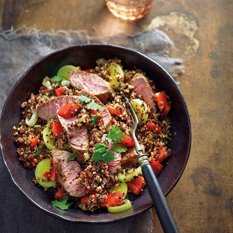 Photo de Filet d'agneau et quinoa prise par WW