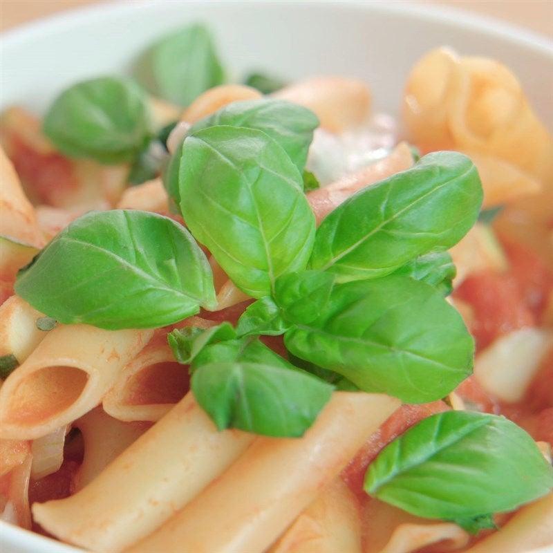 Foto van Pasta met tomaten-mozzarellasaus door WW