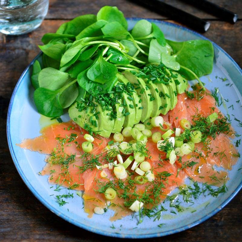 Photo de Pascale Naessens' Petit-déjeuner au saumon fumé prise par WW