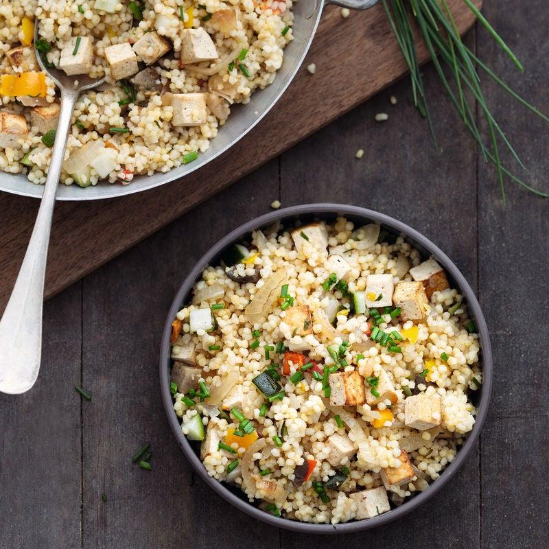 Photo de Méli-mélo de blé, tofu et légumes prise par WW