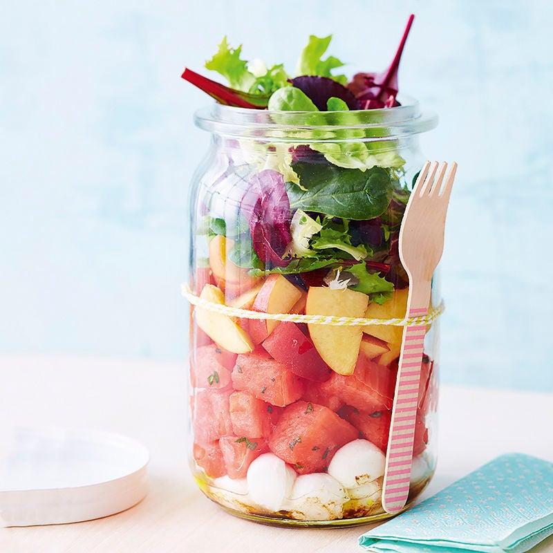 Photo de Salade de pastèque et de mozzarella prise par WW