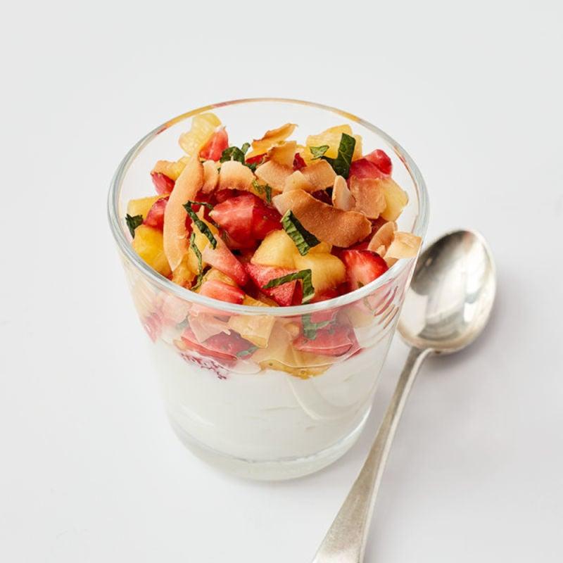 Photo de Salsa d'ananas & fraises et yaourt prise par WW