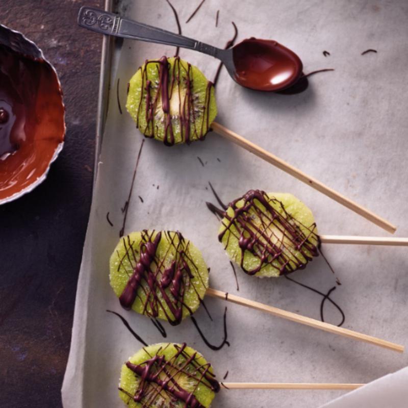 Photo de Glace kiwi & chocolat prise par WW