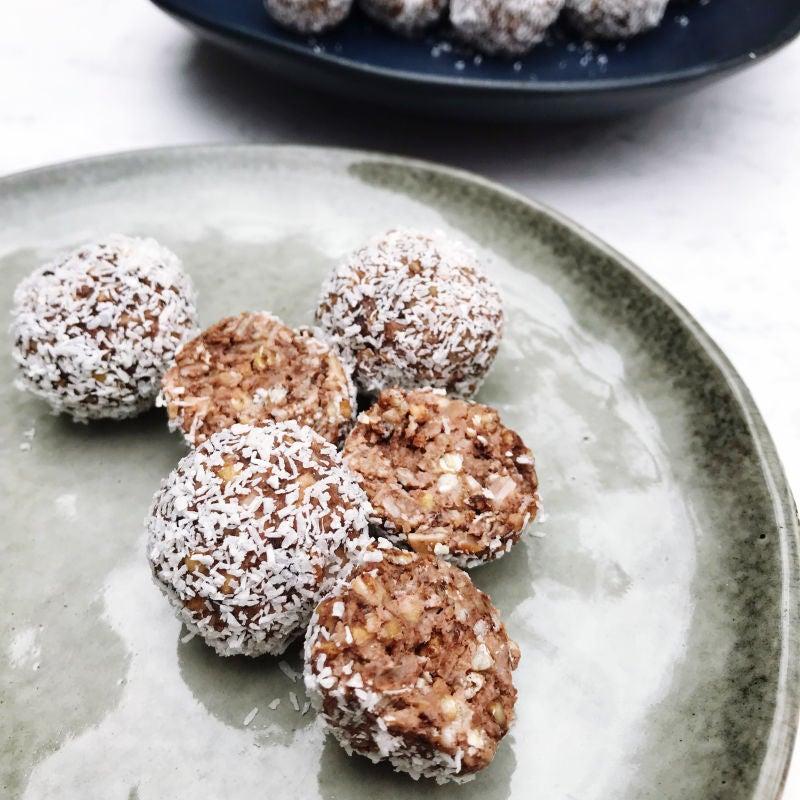Foto van Cheesecake/granola balletjes - WW Loves - Oot Granola door WW