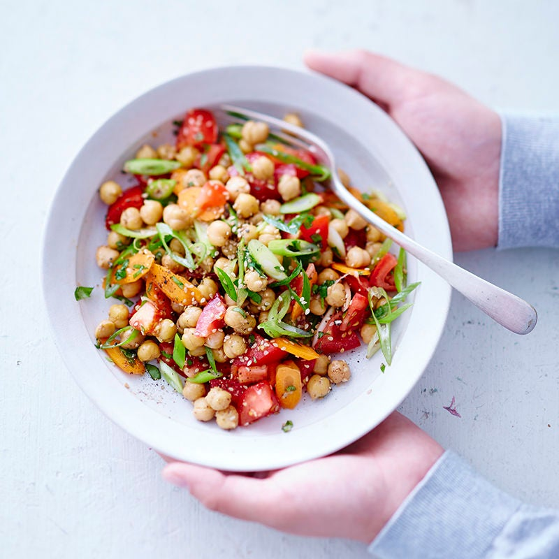 Photo de Salade de pois chiches aux tomates prise par WW