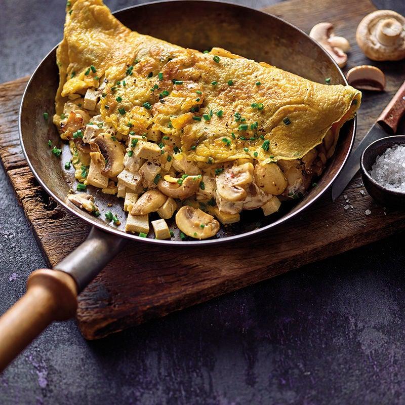 Foto van Gevulde omelet met champignons en tofu door WW