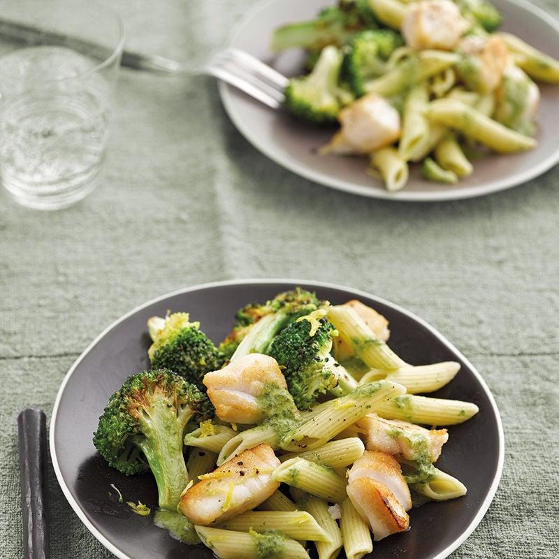 Foto van Pasta met broccoli en koolvis door WW