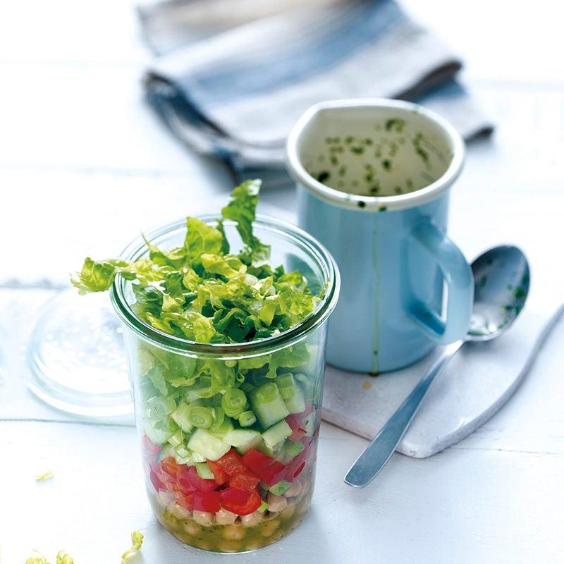 Photo de Salade colorée aux pois chiches prise par WW
