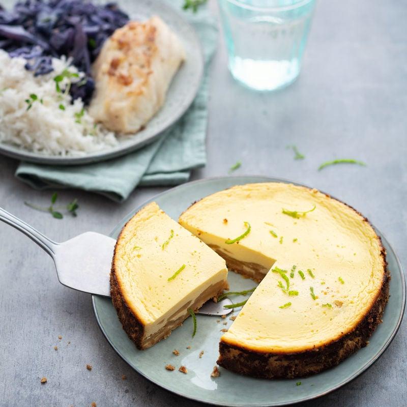 Photo de Cheesecake poire et citron vert prise par WW
