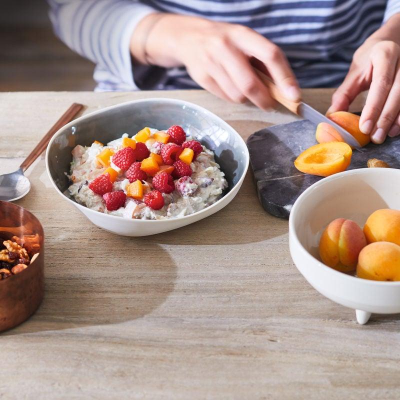 Foto van Oermuesli met frambozen en abrikozen door WW